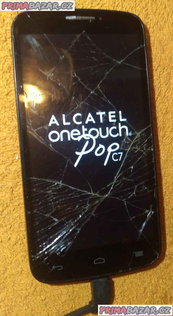 Alcatel One Touch Pop C7 - popraskaný displej!!!