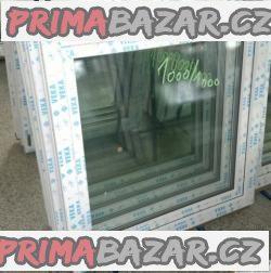 Plastové okno 100x100 bílé
