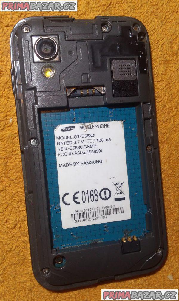 Samsung S5830i Galaxy Ace - 2 závady!!!