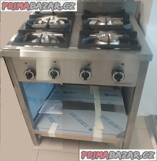 Plynový sporák - 4 hořáky