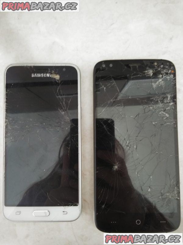 Rozbité telefony