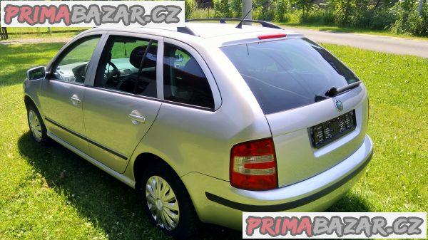 Skoda Fabia combi 1.4TDI 59kw r.v.2006