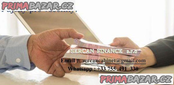 Speciální nabídku půjčky rychlý a spolehlivý.