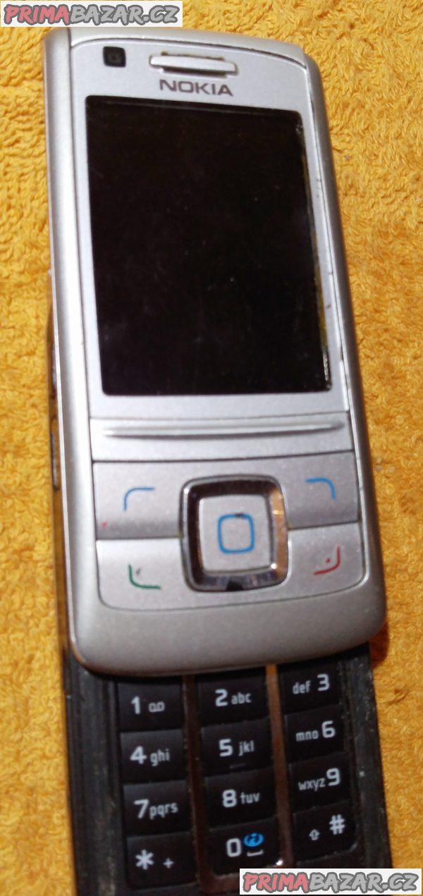 Výsuvná Nokia 6280 - k opravě nebo na náhradní díly!!!