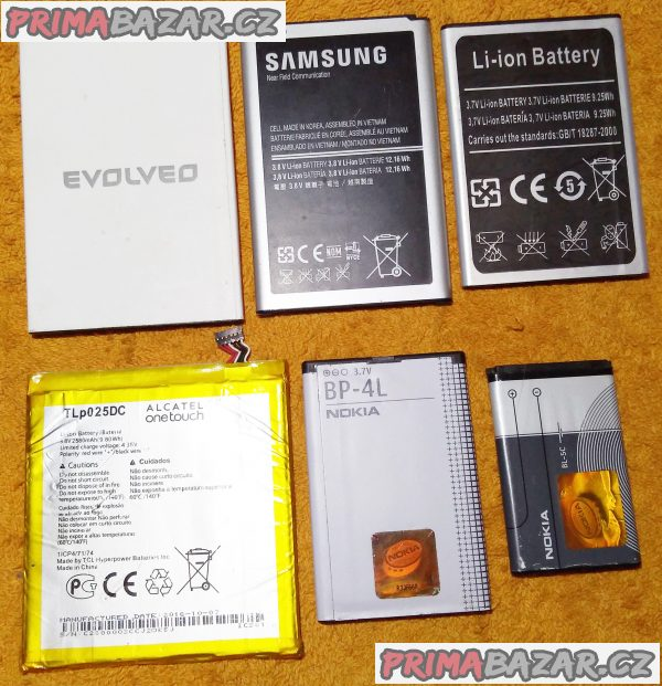 Baterie do mobilních telefonů - levně!!!