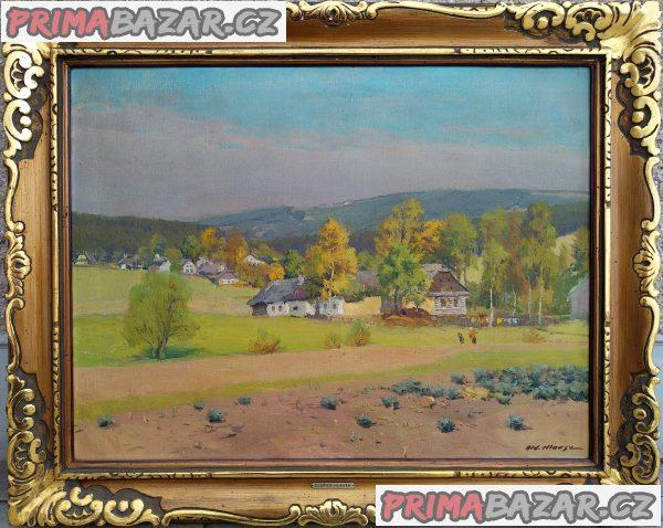 Koupím obrazy: Oldřich Hlavsa