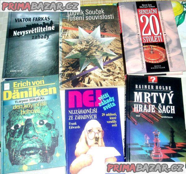Prodám různé knihy z důvodu stěhování