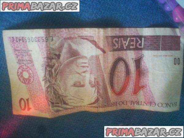 Brazilská bankovka