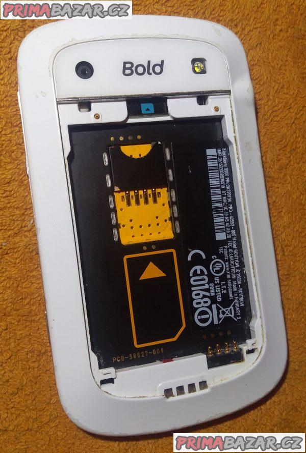BlackBerry 9900 Bold - bez baterie!!!