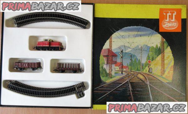 Koupím el. vláčky, mašinky - železnice TT, HO , 0