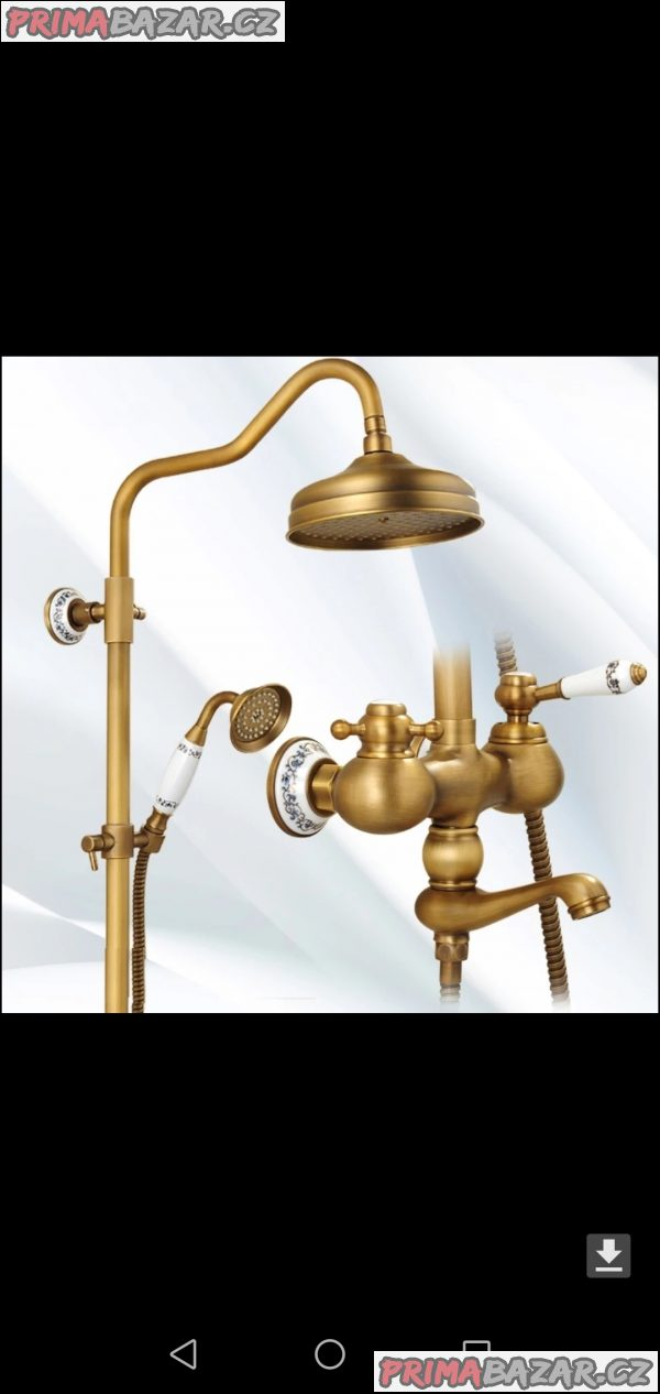 Nová vodovodní baterie sprchová