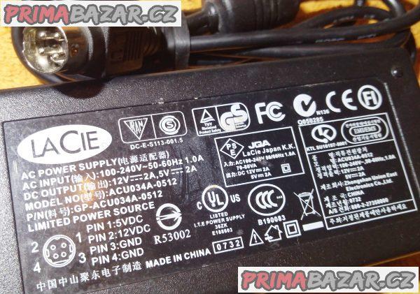 Zánovní orig. napájecí AC adaptéry!!!