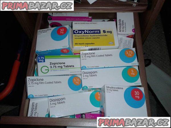 Predaj oxykodón, Ritalin, zolpidem, oxazepam, Cynomel, Adipex, Benzos