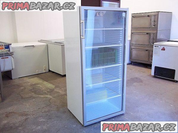 Prosklená lednice chladnice vitrína ELECTROLUX na přepravky