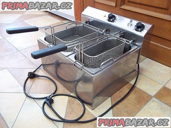 PROFI fritéza dvojitá elektrická GET