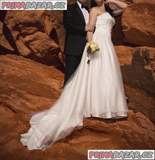 Nádherné svatební šaty z USA