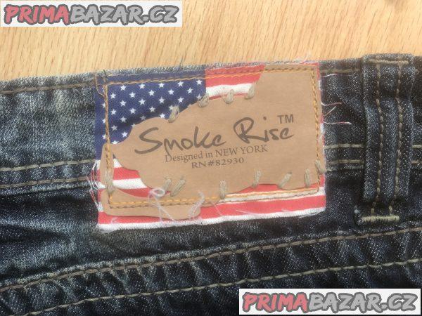 Originální Jeans s americkou vlajkou