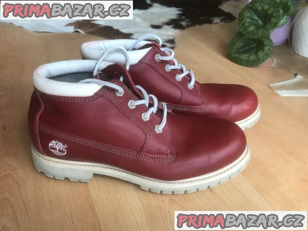 Dámské/Panské kožené značkové boty Timberland