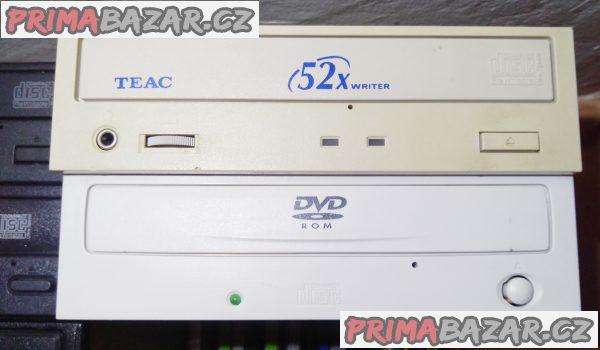 DVD ±R-RW mechaniky pro PC - LEVNĚ + propoj. kabely!!!
