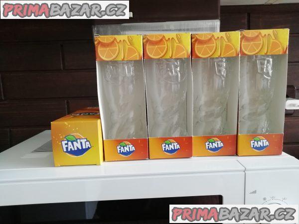 Skleničky Fanta,