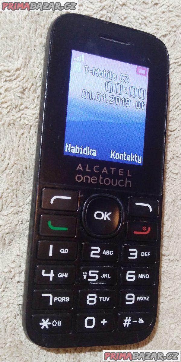 Alcatel OT-1016G + nabíječka!!!