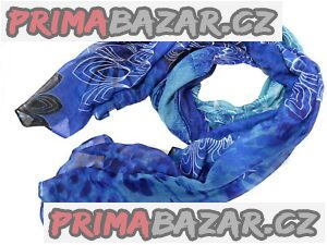 Nový dámský značkový šátek šála desigual Nekko modrý