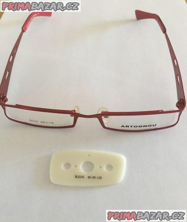 Nové moderní Artognou dioptrické unisex brýle
