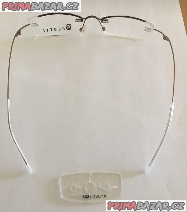 Nové moderní Belutti dioptrické unisex brýle