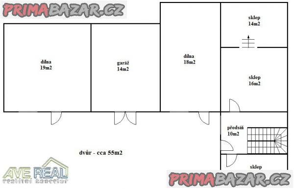 Prodej RD o velikosti 3+1 (cca 82m2), garáž, 2x dílna, sklep, pozemek 433m2, Praha 8 (Ďáblice), ul. Ďáblická