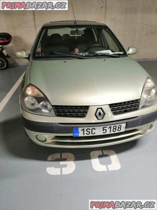 Renault Thalia velmi slušný stav nová STK garážovánaa