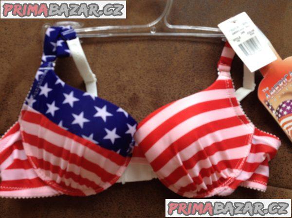 Nová značková kvalitní podprsenka ve stylu USA vlajky