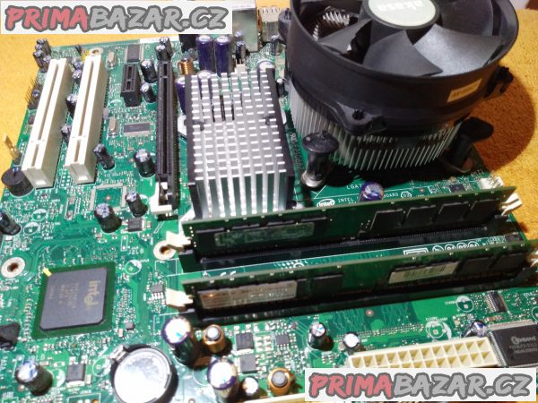 Intel D946GZIS + procesor- chladič- HDD- DVD a 2 GB RAM!!!