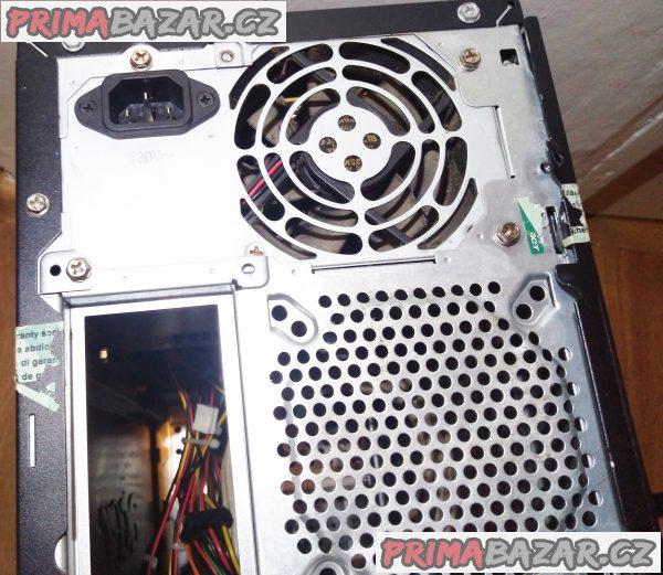 PC skříň Acer Aspire M1100 + zdroj a čtečka a DVD.