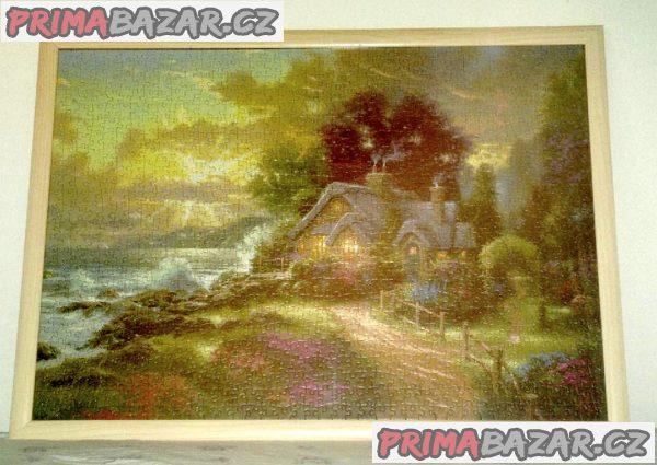 Nabízím NOVÉ zarámované obrazy  z Puzzle.