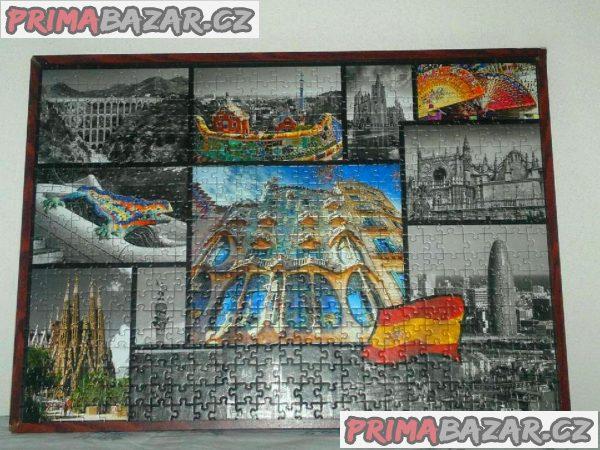 Zcela NOVÉ zarámované obrazy  z Puzzle.