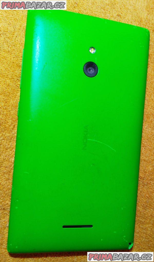 Nokia XL Dual SIM Bright Green - k opravě nebo na ND!!!