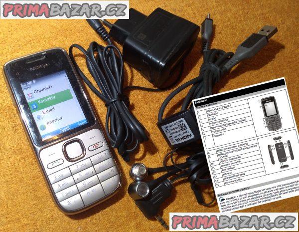 Nokia C2-01 + 3 DÁRKY!!!