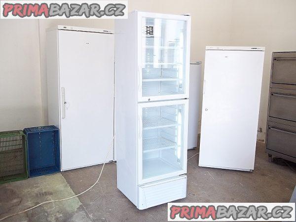 Prosklená lednice chladnice vitrína GGG