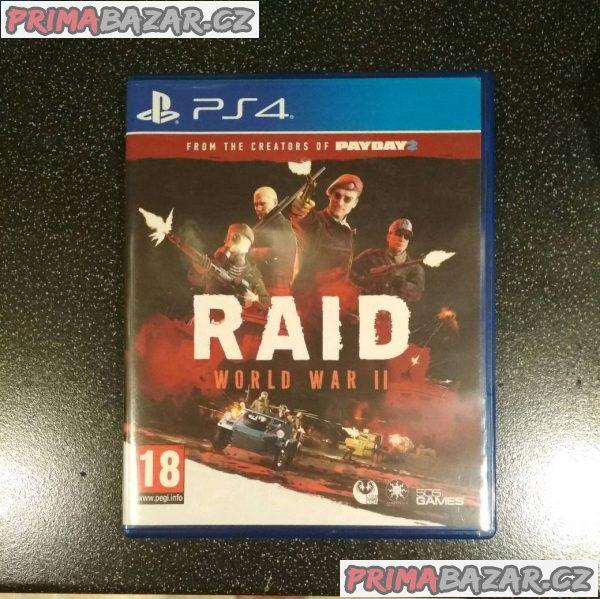 PS4 - RAID World War 2