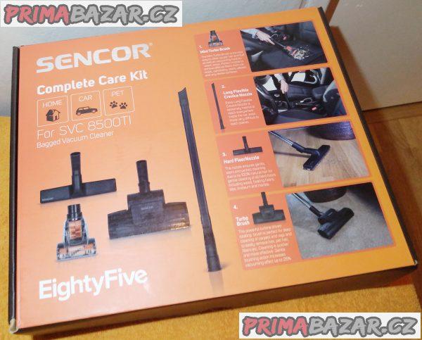 Sada k vysavači Sencor - 3 nepoužité kusy!!!