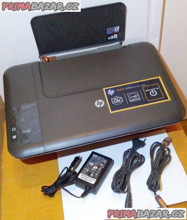 Multifunkční zařízení HP Deskjet 2050A + několik věcí ZDARMA!!!