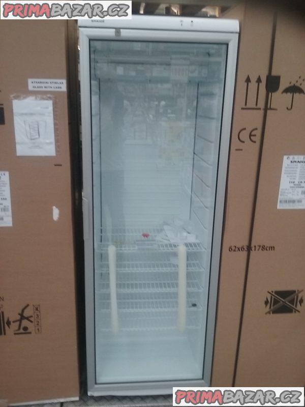 Chladící vitrína do obchodu (zámek)