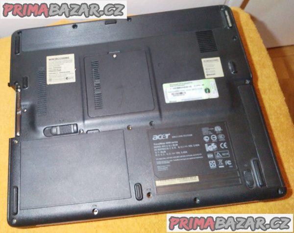 Notebook Acer TravelMate 4650 - k opravě nebo na náhradní díly!!!