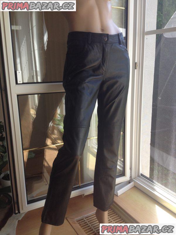 Značkové kožené kalhoty RAMPAGE z USA
