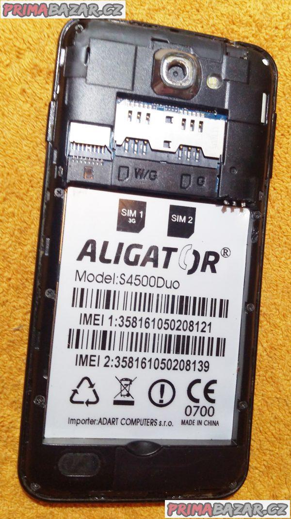 Aligator S4500Duo - k opravě nebo na náhradní díly!!!