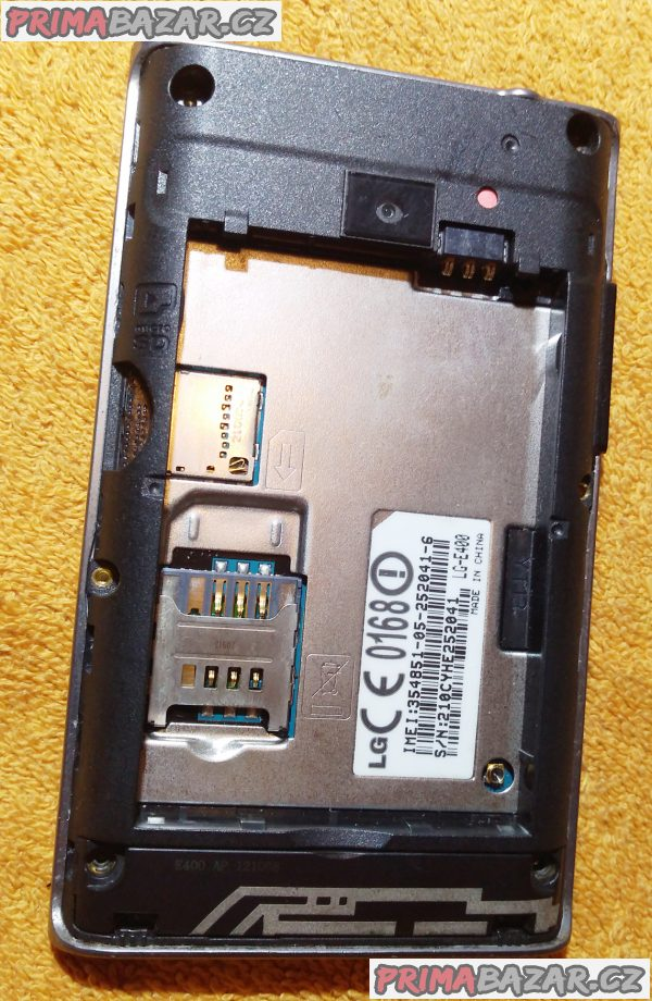 LG Optimus L3 - k přeinst. software!!!