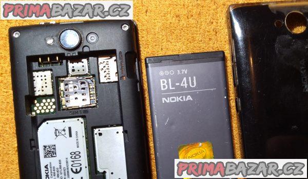 Nokia Asha 503 - k opravě nebo na náhradní díly!!!