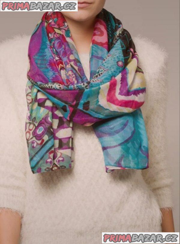 Nový damsky značkový šátek šála desigual estambul