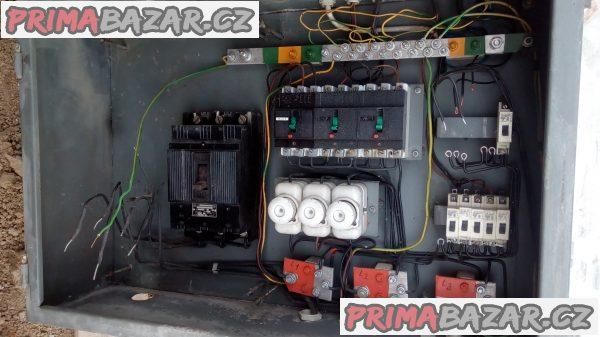 Prodám stavební rozvodovou elektrickou skříň