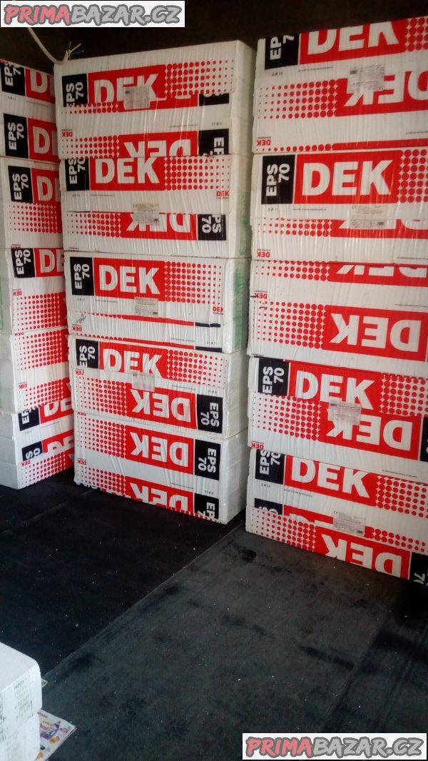 Prodám fasádní polystyrén tl.150mm DEK EPS70.